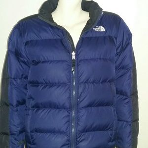 """North Face"" puffer jacket"